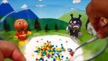 アンパンマン アニメ❤おもちゃ 手作り宝石入り巨大バスボール Big Surprise Eggs Toy Kids トイキッズ animation anpanman
