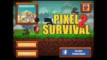 We killed our first boss fight (Pixel survival 2)our first bow and arrow