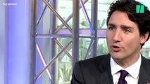 """On a trouvé le point faible de Justin Trudeau: il ne sait pas prononcer le mot """"brise-glace"""""""