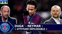 Christophe Dugarry détruit Neymar puis se fait clasher en direct par un auditeur