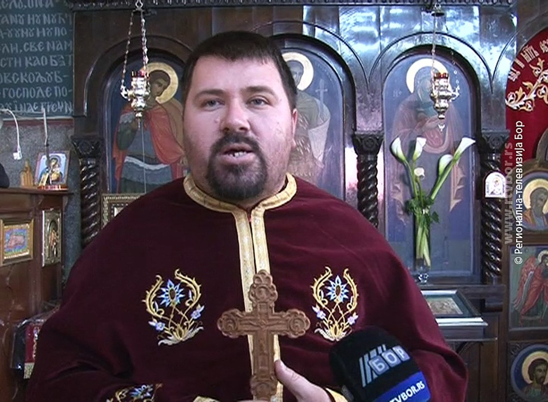 Pravoslavna crkva i vernici obeležili Bogojavljenje, 19. januar 2018. (RTV Bor)