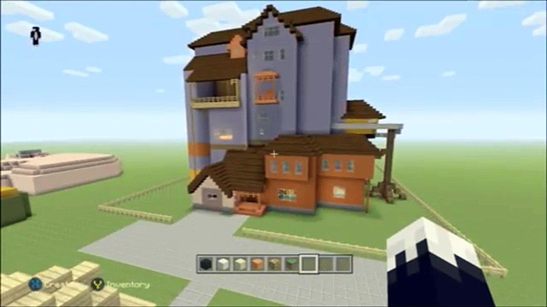 Minecraft Xbox One Hello Neighbour House Tour Alpha1 Video Dailymotion