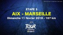 Tour de La Provence : étape 3, Aix-en-Provence - Marseille