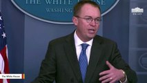 OMB Dir. Mulvaney: 'Obama Administration Weaponized The Shutdown In 2013'