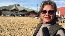 Jeane Manson galope au festival Cheval Passion