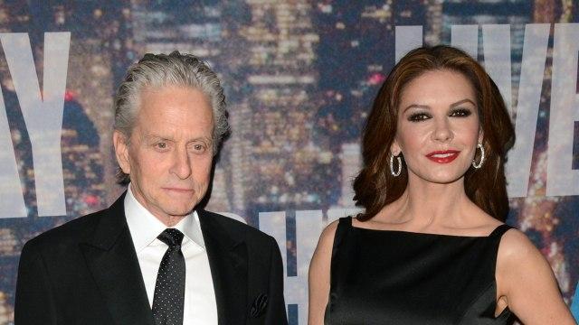 Catherine Zeta-Jones Talks Michael Douglas Misconduct Allegation