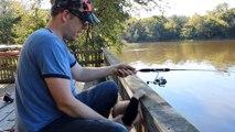 Best bluegill bait - Slim Jims! Catch tons of bream.