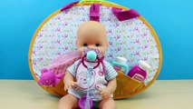Bañera, Bolso y Cuna de viaje de Bebé Nenuco 3 en 1 | Juguetes de muñeca bebé Nenuco en español
