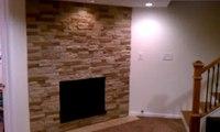 Final basement walk through--Basement Remodeling