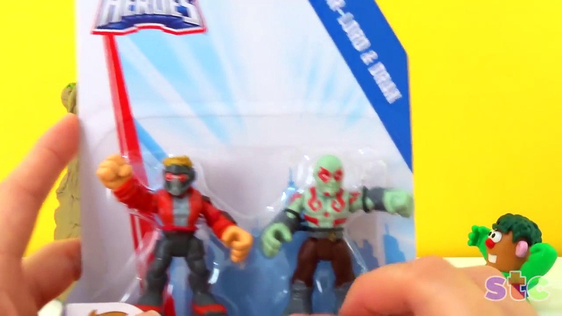 Playskool Heroes Marvel Super Hero Adventures Hulk and Groot