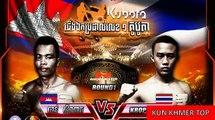 Chan Sinath vs Kropetch(thai), Khmer Boxing Bayon 19 Jan 2018, Kun Khmer vs Muay Thai