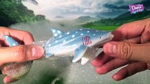 8 DIFFERENT TYPES OF SHARKS - SURPRISE ANIMAL SHARK SURPRISE TOYS in Bubbles! Great White Hammerhead