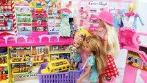 Barbie Alışveriş Merkezi : Oyuncak, Şekerleme, Elbise, Şapka, Mücevher, Bakkal Alışveriş!