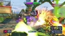 Plants Vs. Zombies: Garden Warfare -Toxic Peashooter vs Tank Zombies (PVZ Garden Warfare)