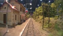 Model train driver's view  Cab ride on an HO scale model railroad layout | Pilentum Television - The world of model trains