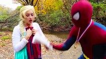 #6Frozen Elsa & Spiderman BOXING! w  Rapunzel Joker Maleficent Toys! Superhero Fun in real life IRL | Superheroes | Spiderman | Superman | Frozen Elsa | Joker