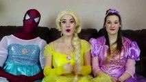 #7Frozen Elsa CLOTHES SWAP CHALLENGE w  Spiderman Belle Rapunzel Joker Fun Superhero in real life | Superheroes | Spiderman | Superman | Frozen Elsa | Joker