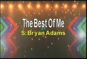 Bryan Adams The Best Of Me Karaoke Version
