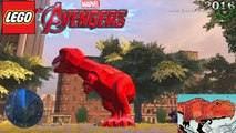 Lego Devil Dinosaur Evolution - in Lego Marvel Videogames