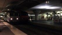 BB 7200 ( Nez cassés ) et BB 26000 (Sybic) - Intercités - Gare d'Austelitz