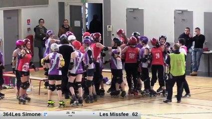 Championnat de France de Roller Derby N2 (Zone 2 étape 2) 20/01/2018