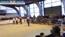 Coupe de France des Clubs à Romans : doublette Guilhot/Woelffle VS Molinas/Mallet