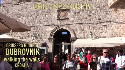 Dubrovnik, walking the wall of this walled City