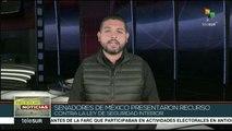 México: senadores presentan recurso contra Ley de Seguridad Interior