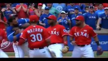 TEXAS RANGERS vs. TORONTO BLUE JAYS Fall-Out During 8th Inning - Don't Mess With Texas