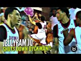 They Dbl Teamed Jahvon Quinerly w/ NO LUCK! JQ GOES CRAZY at NYC's Dyckman w/ Jellys & CLUTCH Shots!