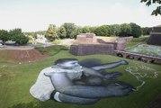Eurockéennes : qui est Saype, l'auteur de la fresque sur herbe à Belfort ?