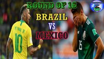 BRAZIL VS MEXICO,Fifa world cup 2018 Brazil won by 2-0 ,All goals and Extend highlights