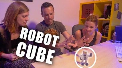 Résoudre ce Robot Cube impossible - Solution Casse Tête-  Fabien Olicard