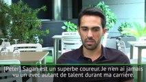 """Interview - Contador sur Sagan : """"Je n'ai jamais vu un coureur avec autant de talent"""""""