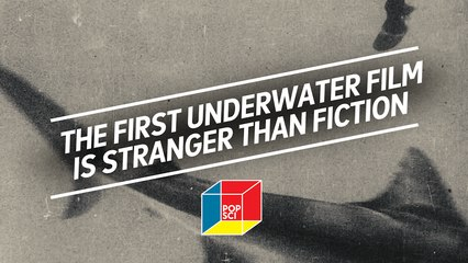 "The first under water film is stranger than fiction: ""The Terrors of the Deep"""