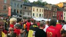 Charleroi: écran géant pour Belgique-Japon