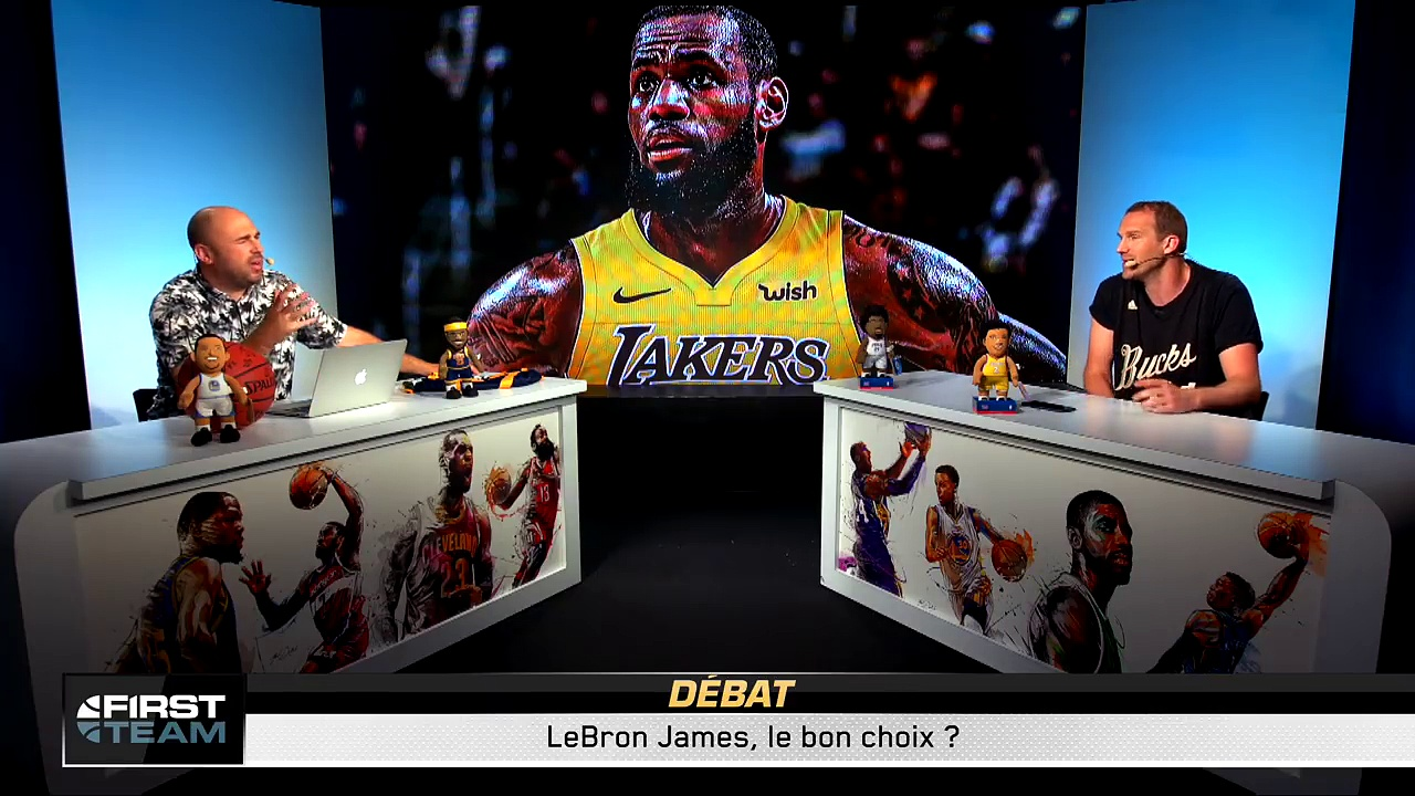 LEBRON JAMES AUX LAKERS + FREE AGENCY ! First Talk NBA #55