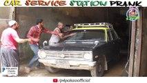 Car Service Station Prank ,  By Nadir Ali & Asim Sanata In ,  P4 Pakao ,  2018