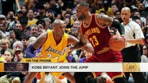 Kobe Bryant on LeBron James going to Lakers- 'I'm really, really excited' - The Jump - ESPN