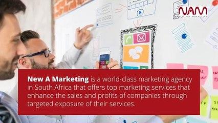 Digital Marketing Agency in Johannesburg - New A Marketing