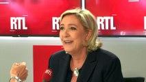 """Migrants : """"Les ONG sont les complices des passeurs"""", dénonce Marine Le Pen sur RTL"""