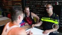 Sans frontières - Pays-Bas : «Un café avec un flic»