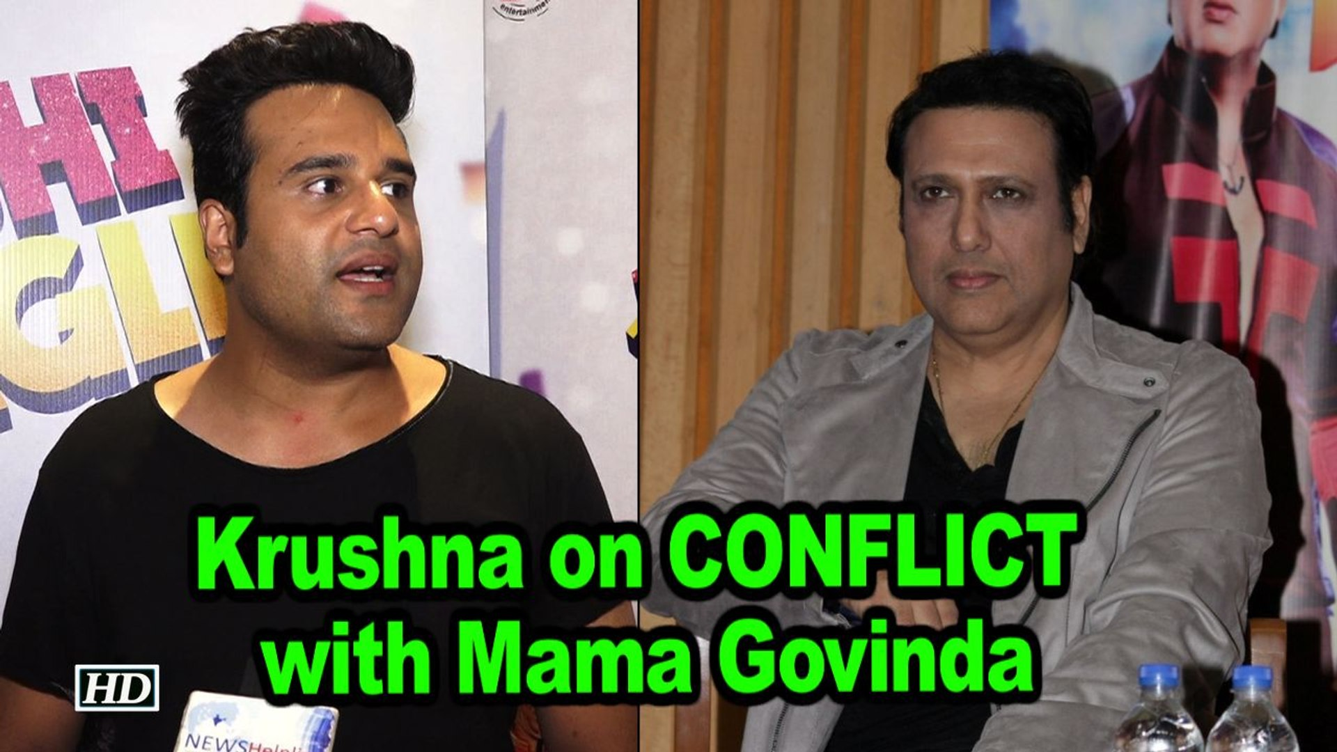 Krushna opens up on CONFLICT with Mama Govinda