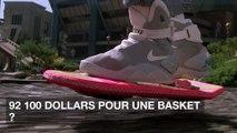 Retour vers le futur 2 : une basket portée par Michael J. Fox vendue près de 100 000 dollars