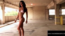 PERFECT BODY - ASHLEY KALTWASSER POSING - Female Bodybuilding Muscle Fitness