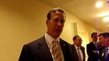Walking Interview Rick Santorum 5 12 15
