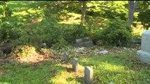 Vandals Target Iowa Cemetery by Tearing Down Headstones
