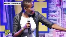 FEMALE COMEDIENNE STANDINGThis Woman is something else.She must be the funniest Stand up comedienne Uganda has at the momentShe will look for funny in any to