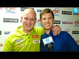 Michael van Gerwen 10-4 Benito van de Pas. Full Post Match Interview