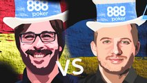 We have another big matchup. It's the 2017 WSOPE Main Event Champion from , Marti Roca, versus 2014 WSOP Main Event Champion from , Martin Jacobson!